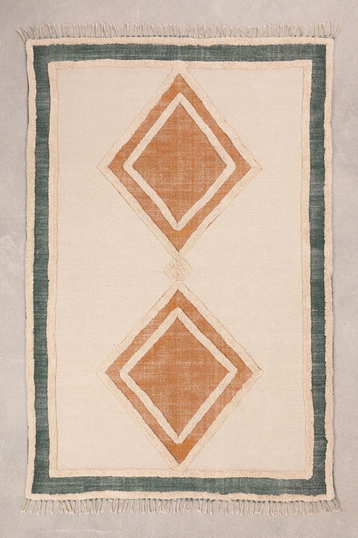 Katoenen vloerkleed (185x120 cm) Derum, galerij beeld 1