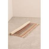 Katoenen vloerkleed (185x125 cm) Shavi, miniatuur afbeelding 2