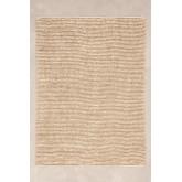 Vloerkleed van jute en wol (230x165 cm) Prixet, miniatuur afbeelding 1
