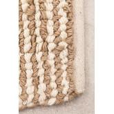 Vloerkleed van jute en wol (230x165 cm) Prixet, miniatuur afbeelding 2
