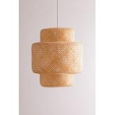 Bamboe plafondlamp (Ø45 cm) Lexie, miniatuur afbeelding 2