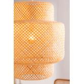 Bamboe plafondlamp (Ø45 cm) Lexie, miniatuur afbeelding 3