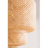 Bamboe plafondlamp (Ø45 cm) Lexie, miniatuur afbeelding 4