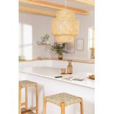 Bamboe plafondlamp (Ø45 cm) Lexie, miniatuur afbeelding 1