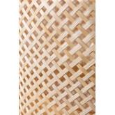 Plafondlamp in bamboe (Ø45 cm) Lexie naturel, miniatuur afbeelding 5
