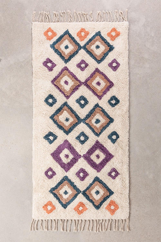 Katoenen vloerkleed (162x72 cm) Gorka, galerij beeld 1