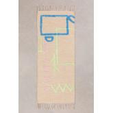 Katoenen vloerkleed (145x50 cm) Fania, miniatuur afbeelding 1