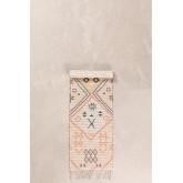 Gang tapijt in jute en stof (170x40 cm) Nuada, miniatuur afbeelding 2