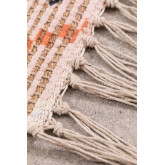 Gang tapijt in jute en stof (170x40 cm) Nuada, miniatuur afbeelding 6