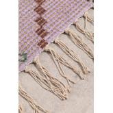 Gang tapijt in jute en stof (170x40 cm) Nuada, miniatuur afbeelding 5