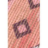 Gang tapijt in jute en stof (170x40 cm) Nuada, miniatuur afbeelding 3