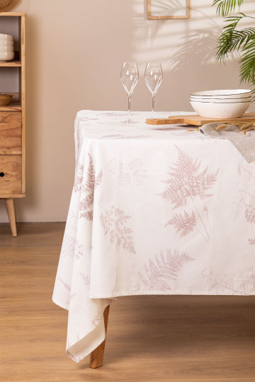 Katoenen tafelkleed (150 x 250 cm) Liz