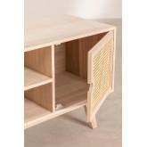 Houten tv-meubel in Ralik-stijl, miniatuur afbeelding 4