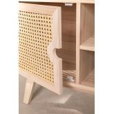 Houten tv-meubel in Ralik-stijl, miniatuur afbeelding 5