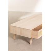Houten salontafel in Ralik-stijl, miniatuur afbeelding 4