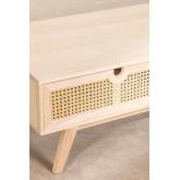 Houten salontafel in Ralik-stijl, miniatuur afbeelding 6