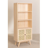 Houten dressoir met 2 planken in Ralik-stijl, miniatuur afbeelding 2