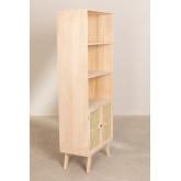 Houten dressoir met 2 planken in Ralik-stijl, miniatuur afbeelding 3