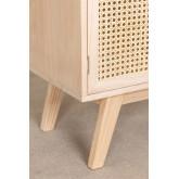 Houten dressoir met 2 planken in Ralik-stijl, miniatuur afbeelding 6