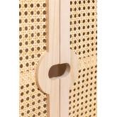 Houten dressoir met 2 planken in Ralik-stijl, miniatuur afbeelding 5