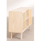 Houten dressoir in Ralik-stijl, miniatuur afbeelding 3