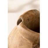 Jayat houten vaas, miniatuur afbeelding 4