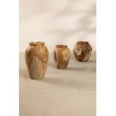 Jayat houten vaas, miniatuur afbeelding 6