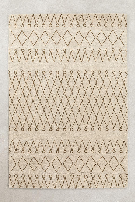Wollen vloerkleed (235x160 cm) Grifin, galerij beeld 1