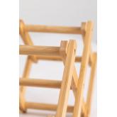Pascal Opvouwbaar Bamboe Wijnrek, miniatuur afbeelding 5