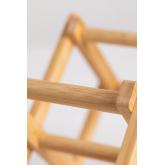 Pascal Opvouwbaar Bamboe Wijnrek, miniatuur afbeelding 6