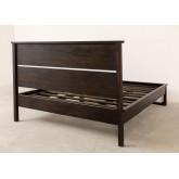 Teakhouten bed voor Somy matras 160 cm, miniatuur afbeelding 4