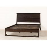 Teakhouten bed voor Somy matras 160 cm, miniatuur afbeelding 5
