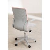 Yener bureaustoel met wieltjes, miniatuur afbeelding 5