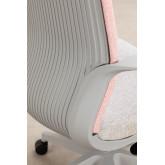 Yener bureaustoel met wieltjes, miniatuur afbeelding 6