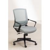 Bureaustoel met werkkleuren op wielen, miniatuur afbeelding 2