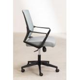 Bureaustoel met werkkleuren op wielen, miniatuur afbeelding 4