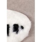 Vloerkleed van synthetisch haar (105x75 cm) Mister, miniatuur afbeelding 2
