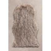 Vloerkleed van synthetisch haar (105x75 cm) Mister, miniatuur afbeelding 1