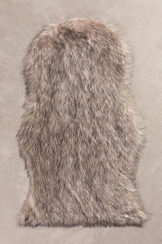 Vloerkleed van synthetisch haar (105x75 cm) Mister, galerij beeld 1