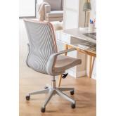 Yener bureaustoel met wieltjes, miniatuur afbeelding 2