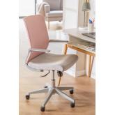 Yener bureaustoel met wieltjes, miniatuur afbeelding 1