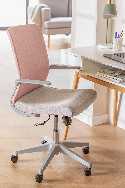 Yener bureaustoel met wieltjes, galerij beeld 1