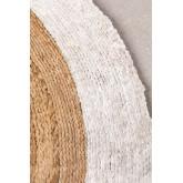 Rond vloerkleed van natuurlijk jute (Ø150 cm) Dagna, miniatuur afbeelding 2
