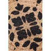 Rond vloerkleed van natuurlijk jute (Ø100 cm) Tricia, miniatuur afbeelding 3