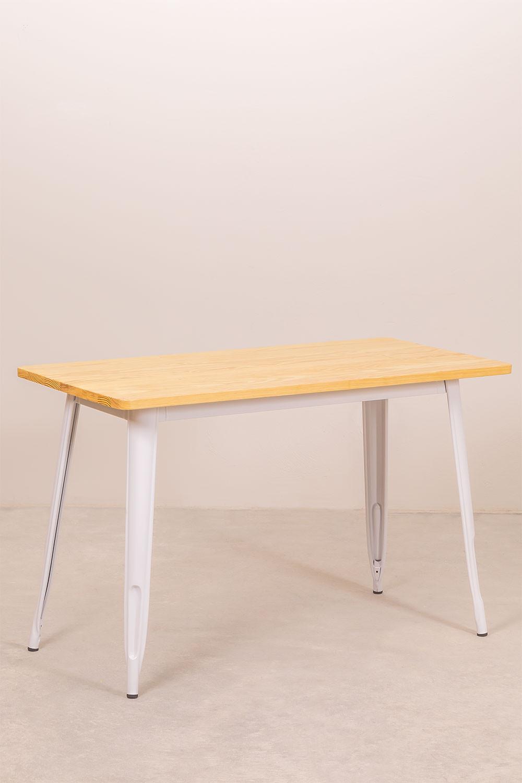 LIX houten tafel (120x60), galerij beeld 1