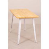 LIX houten tafel (120x60), miniatuur afbeelding 3