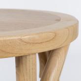 Thon hoge kruk in naturel hout, miniatuur afbeelding 3