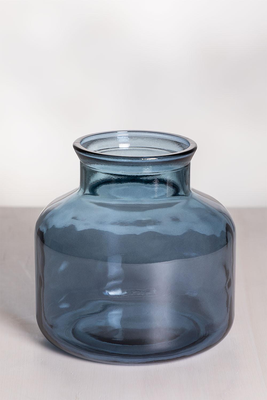 Esko vaas van gerecycled glas, galerij beeld 1