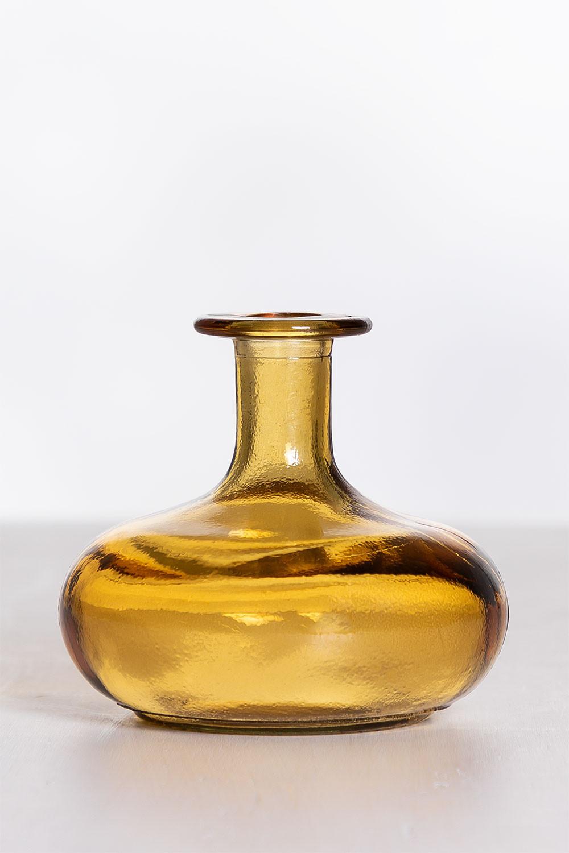 Siclat gerecycled glazen vaas, galerij beeld 1
