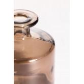 Vaas van gerecycled glas 12 cm Pussa, miniatuur afbeelding 4